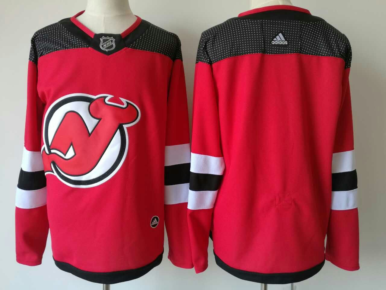 Devils Blank Red Home Premier Adidas Jersey
