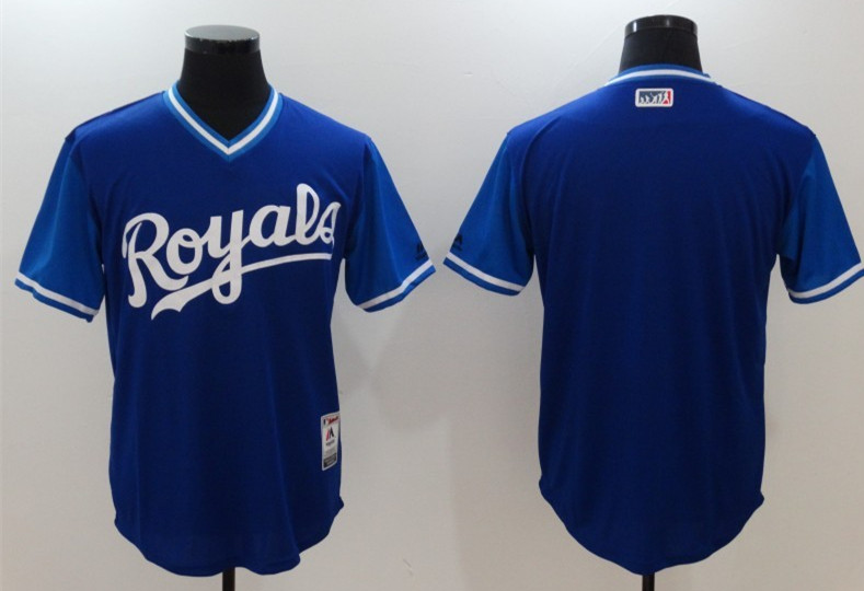 Royals Majestic Navy 2017 Players Weekend Team Jersey