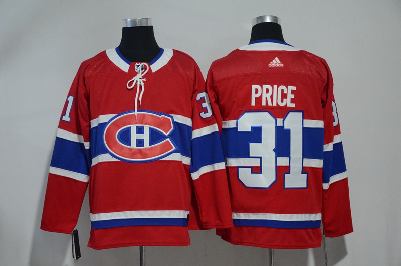 Canadiens 31 Carey Price Red Adidas Jersey