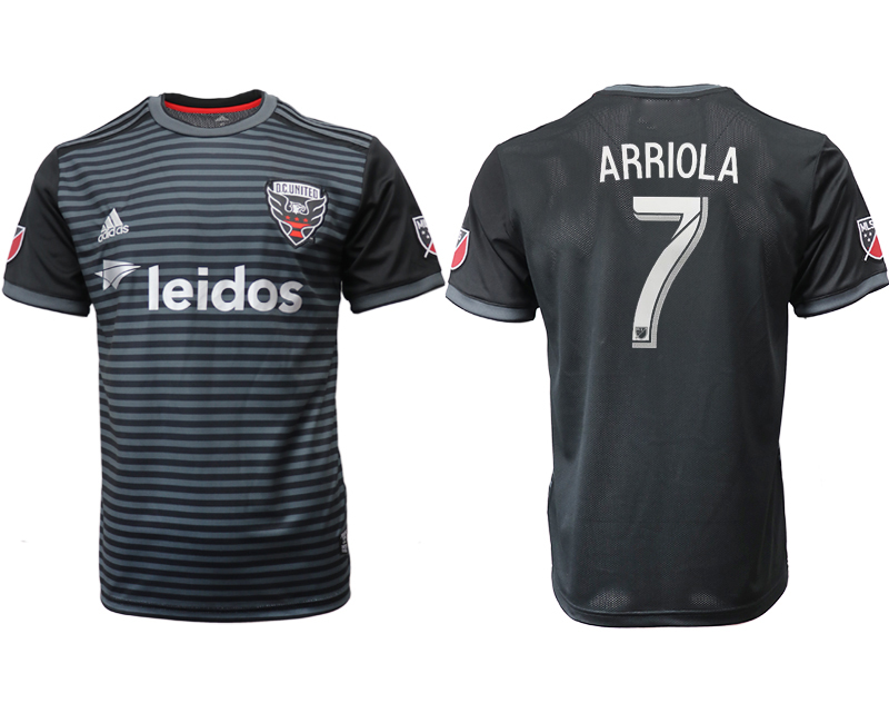 2018-19 D.C. United 7 ARRIOLA Home Thailand Soccer Jersey