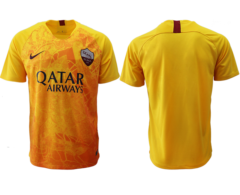 2018-19 Roma Third Away Thailand Soccer Jersey