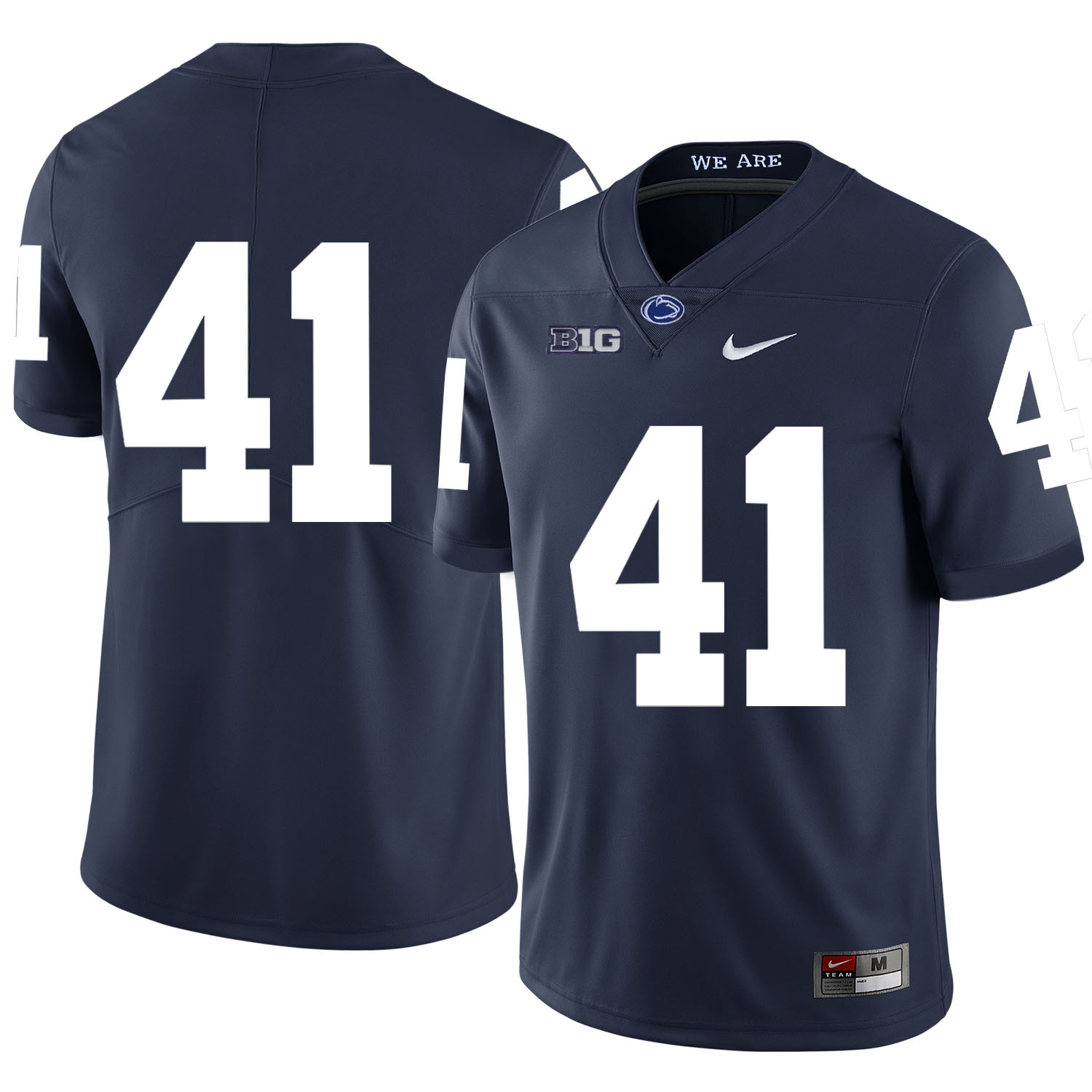 Penn State Nittany Lions 41 Parker Cothren Navy Nike College Football Jersey