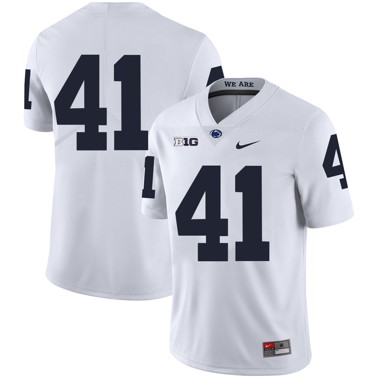 Penn State Nittany Lions 41 Parker Cothren White Nike College Football Jersey