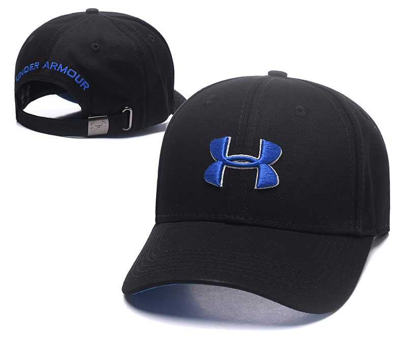 Under Armour Classic Black Peaked Adjustable Hat TX