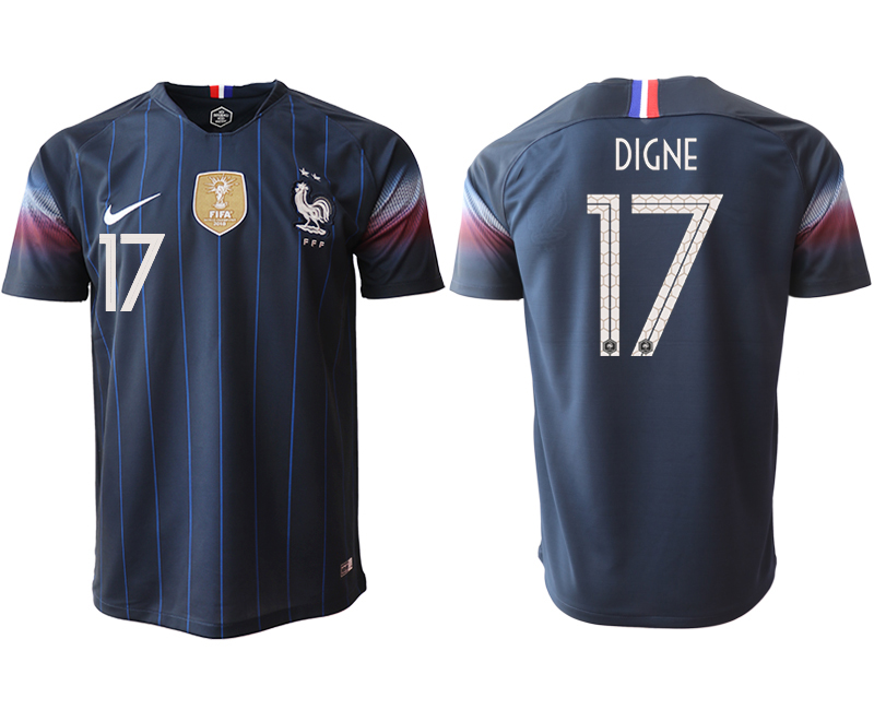 2018-19 France 17 DIGNE Home Thailand Soccer Jersey