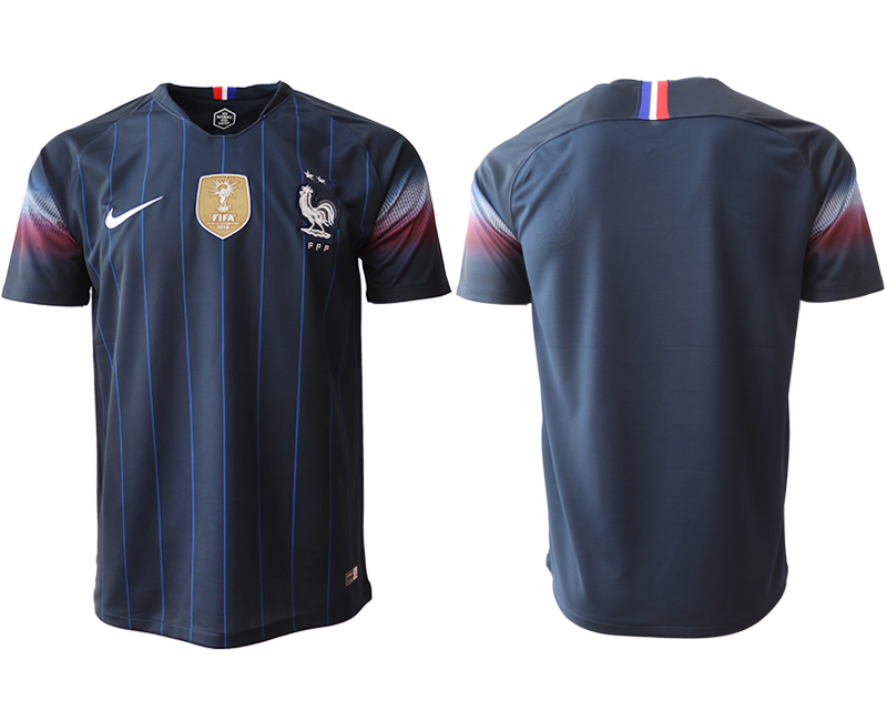 2018-19 France Home Thailand Soccer Jersey
