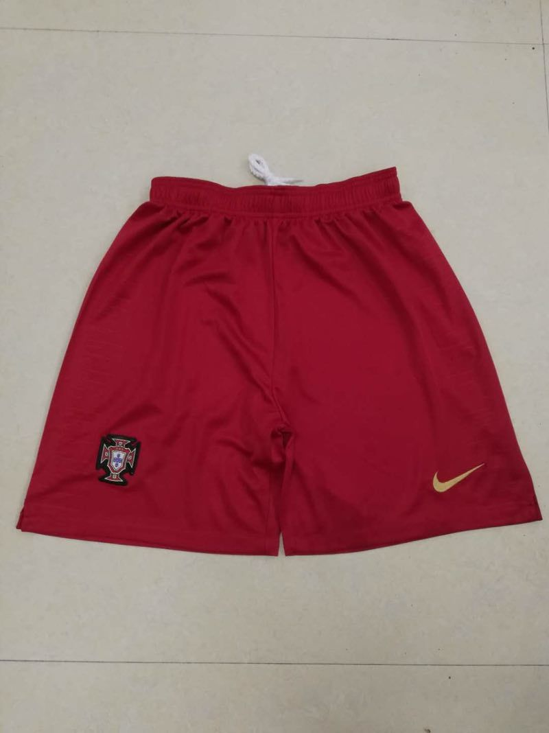 Portugal Home 2018 FIFA World Cup Thailand Soccer Shorts