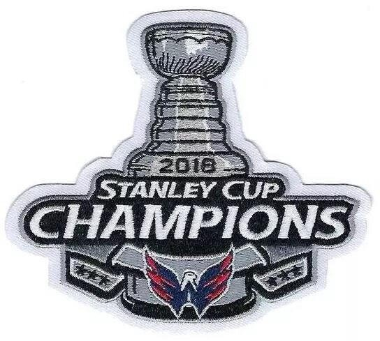 Washington Capitals 2018 Stanley Cup Champions Patch