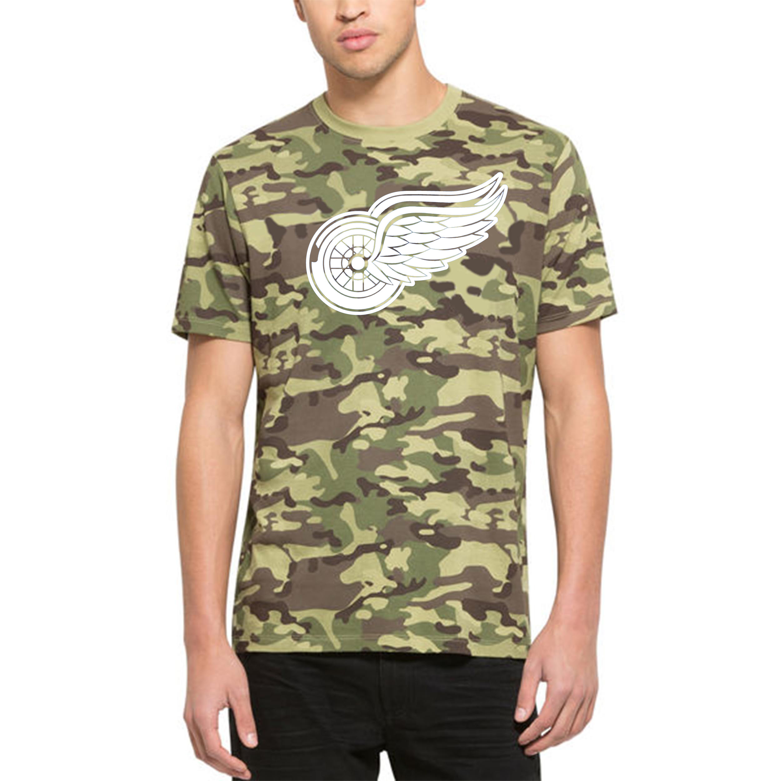 Detroit Red Wings '47 Alpha T-Shirt Camo