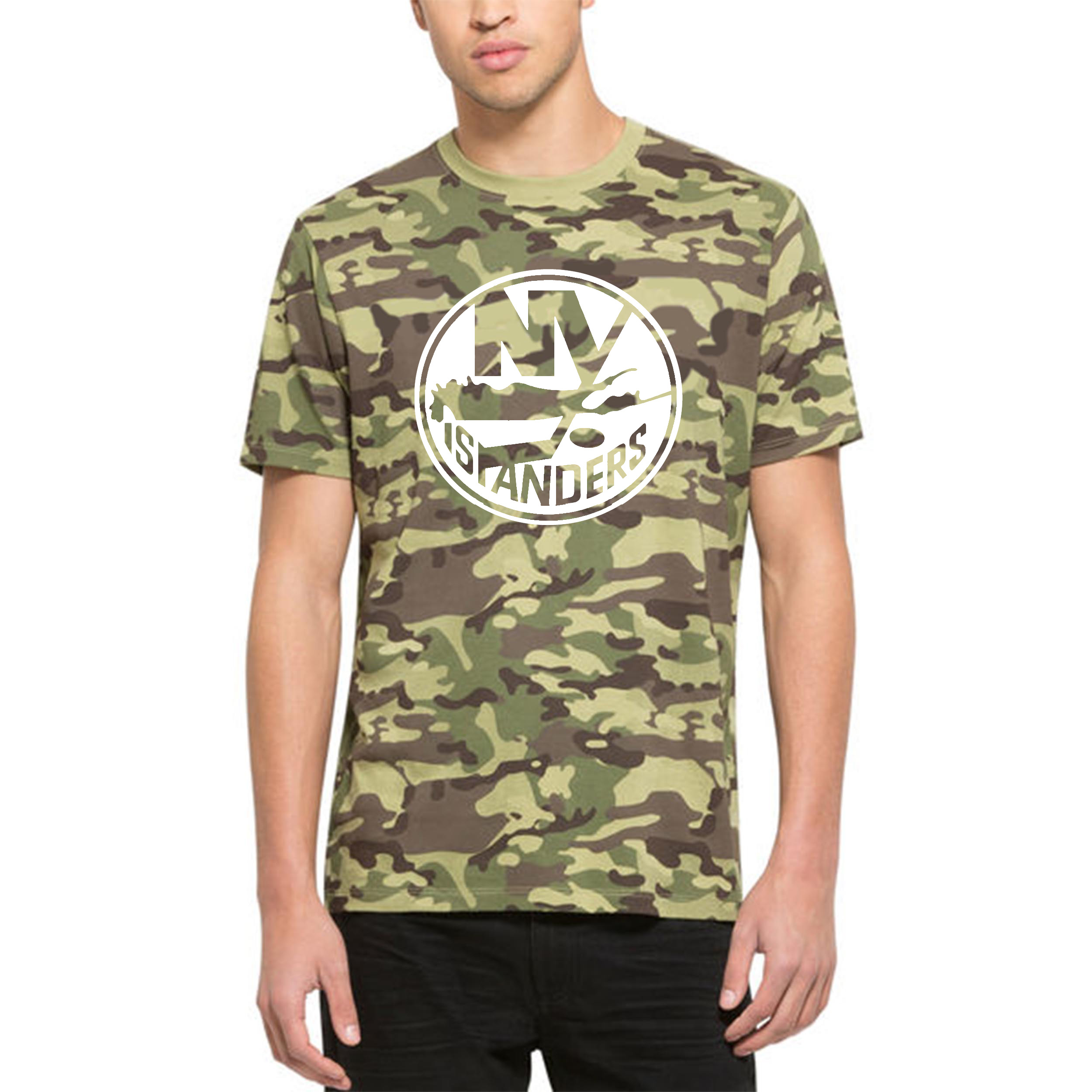 New York Islanders '47 Alpha T-Shirt Camo