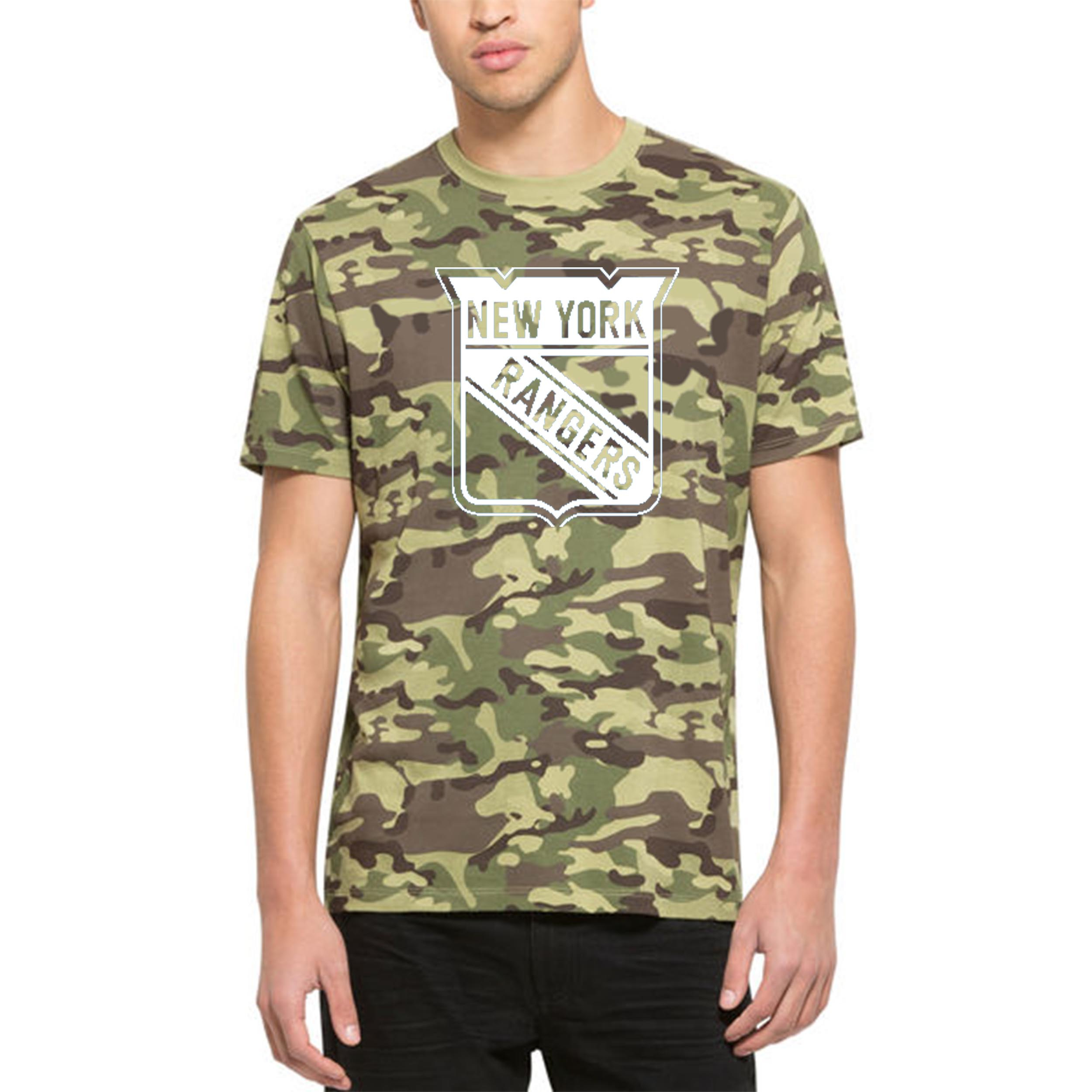 New York Rangers '47 Alpha T-Shirt Camo