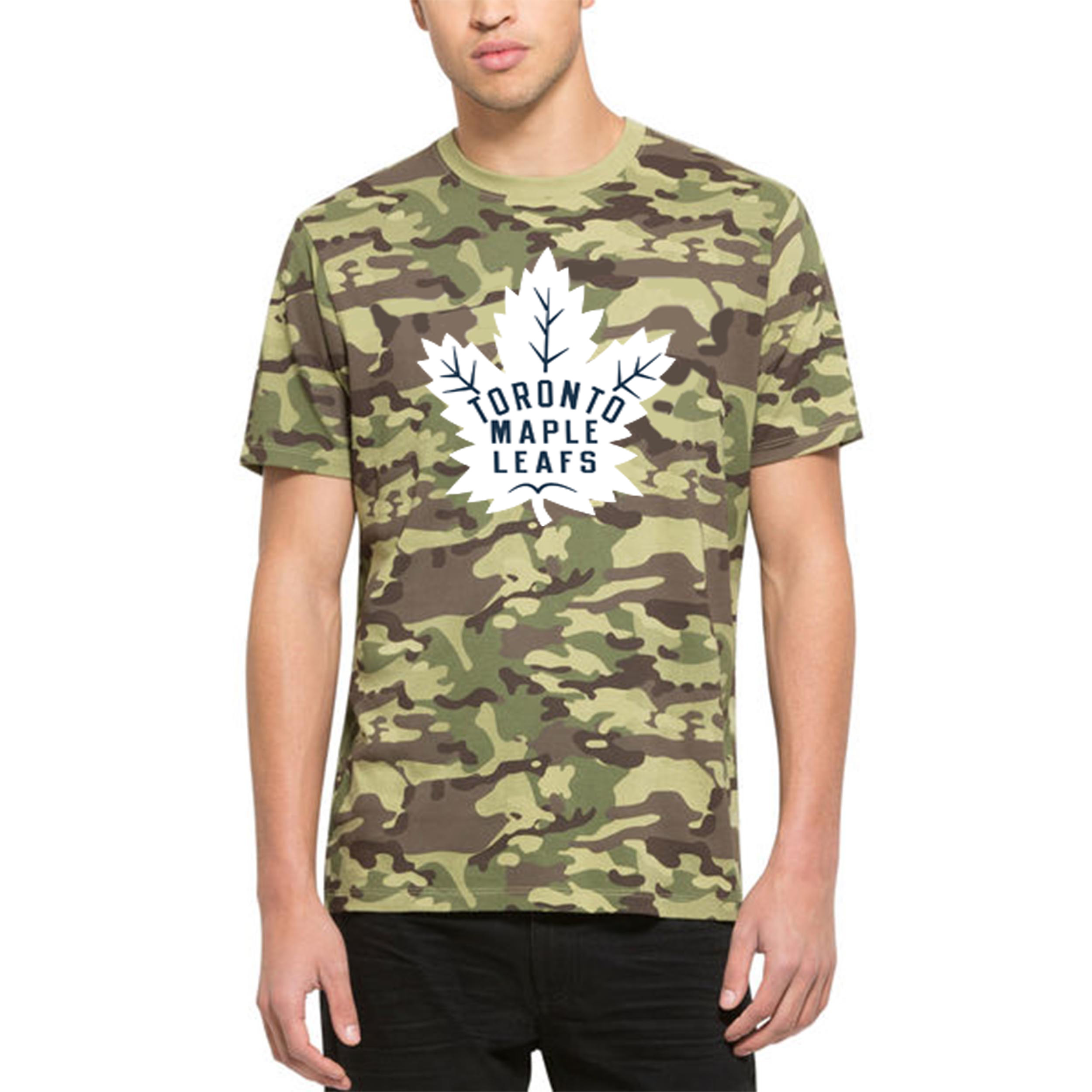 Toronto Maple Leafs '47 Alpha T-Shirt Camo