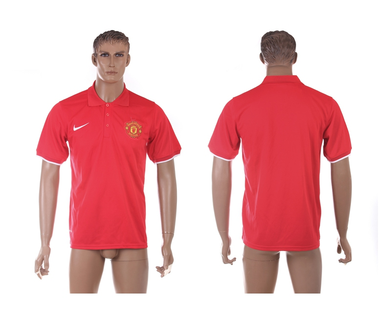 Manchester United Red Soccer Polo Shirt