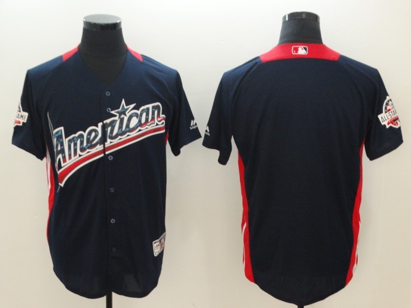 American League Navy 2018 MLB All-Star Game Home Run Derby Team Jersey
