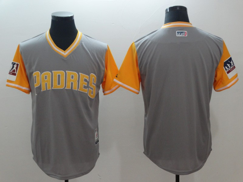 Padres Gray 2018 Players' Weekend Authentic Team Jersey