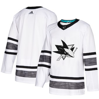 Sharks White 2019 NHL All-Star Game Adidas Jersey