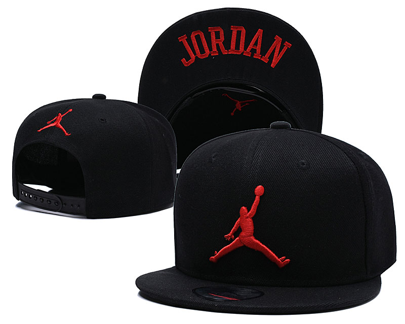 Air Jordan Black Sport Adjustable Hat TX