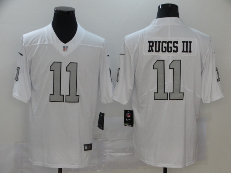 Nike Raiders 11 Henry Ruggs III White 2020 NFL Draft First Round Pick Vapor Untouchable Limited Jersey