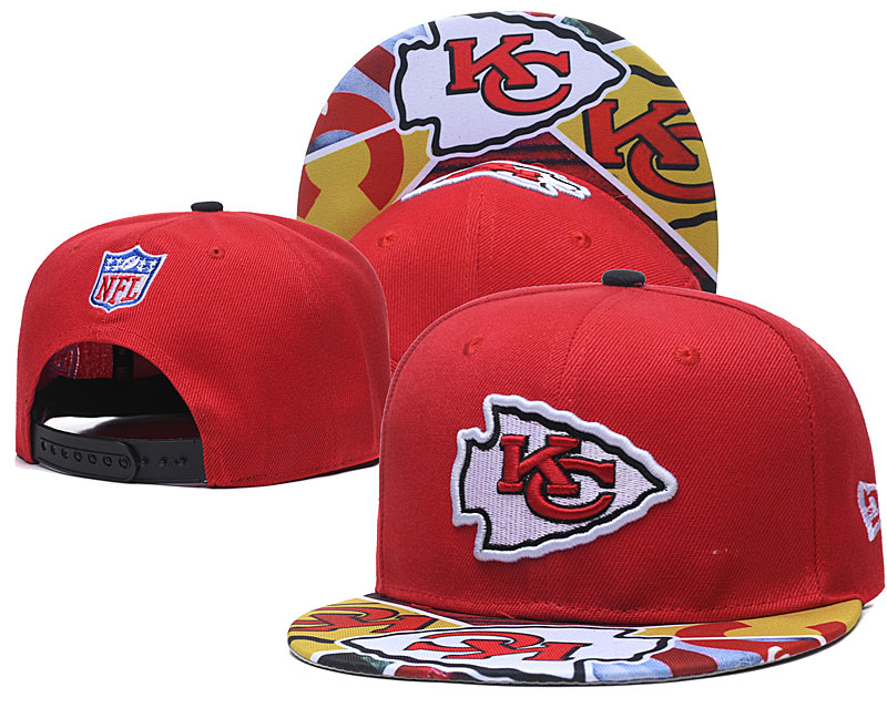 Chiefs Team Logo Red Adjustable Hat TX