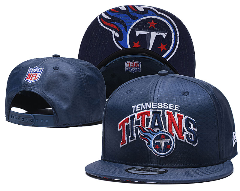 Titans Team Logo Navy Adjustable Hat TX