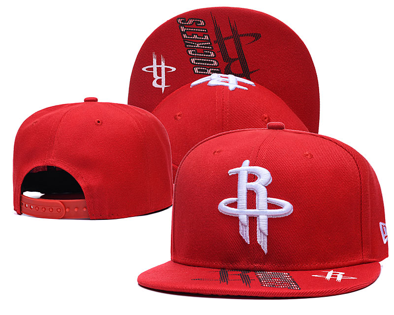 Rockets Team Logo Red Adjustable Hat GS