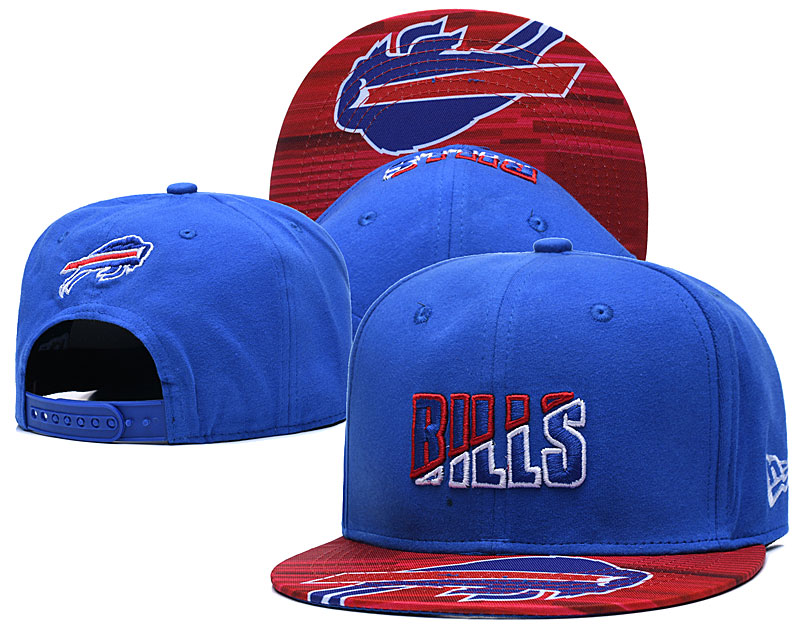 Bills Team Logo Royal 2020 NFL Summer Sideline Adjustable Hat YD