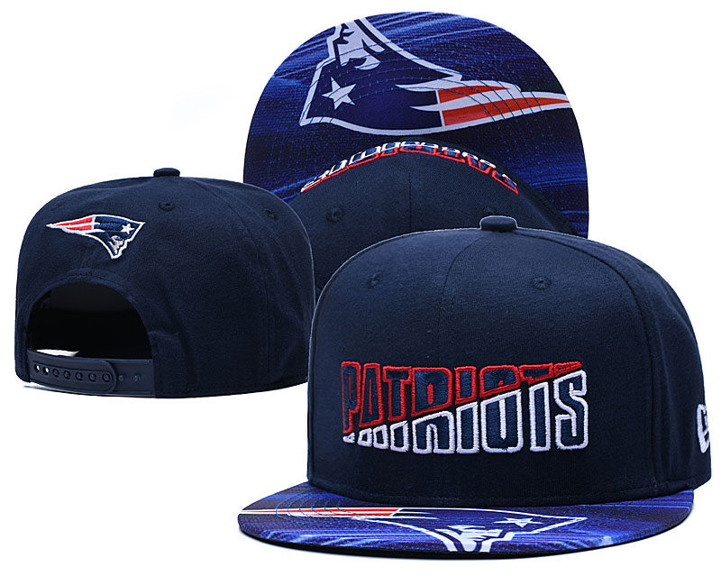 Patriots Team Logo Navy 2020 NFL Summer Sideline Adjustable Hat YD