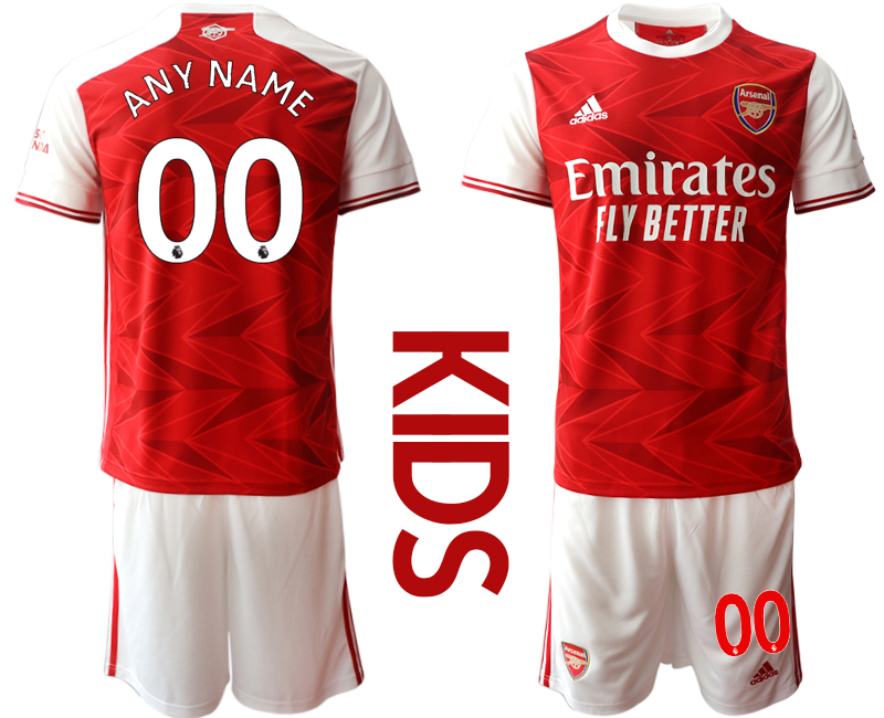 2020-21 Arsenal Customized Youth Home Soccer Jersey