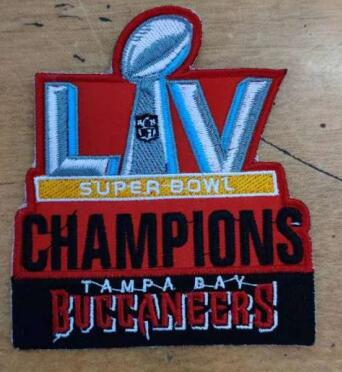 2021 Tampa Bay Buccaneers Super Bowl Champion Patch