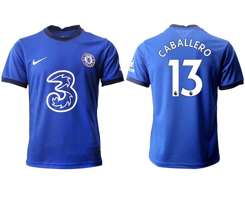 2020-21 Chelsea 13 CABALLERO Home Thailand Soccer Jersey