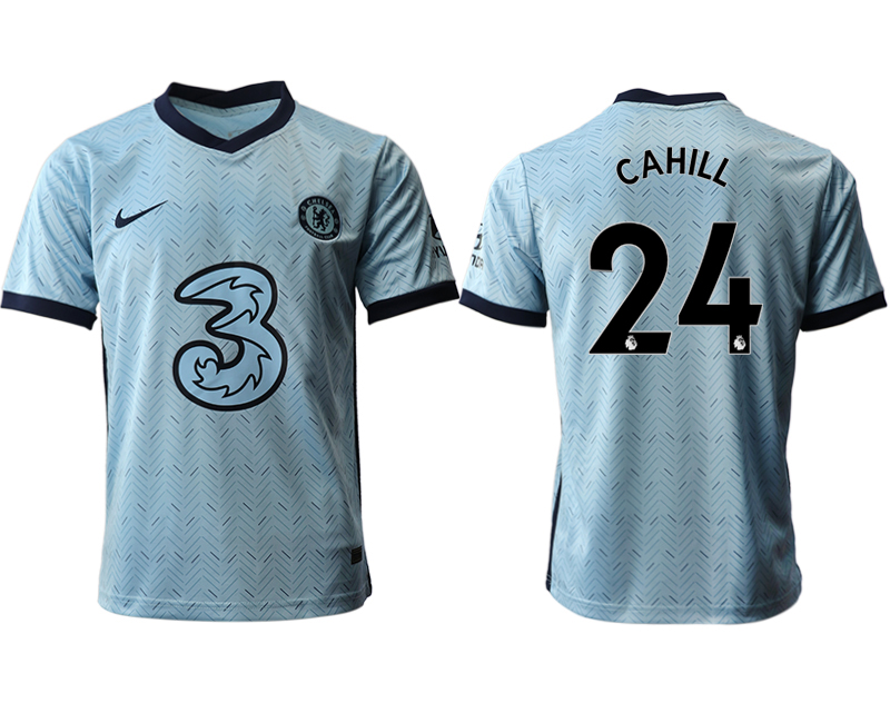 2020-21 Chelsea 24 CAHILL Away Thailand Soccer Jersey