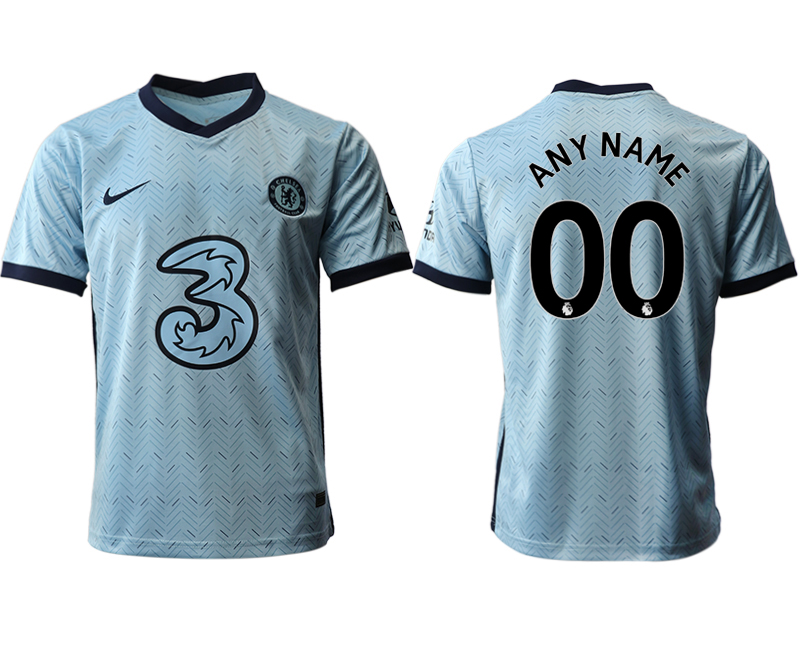 2020-21 Chelsea Customized Away Thailand Soccer Jersey