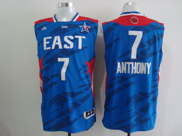2013 All Star East 7 Anthony Blue Jerseys
