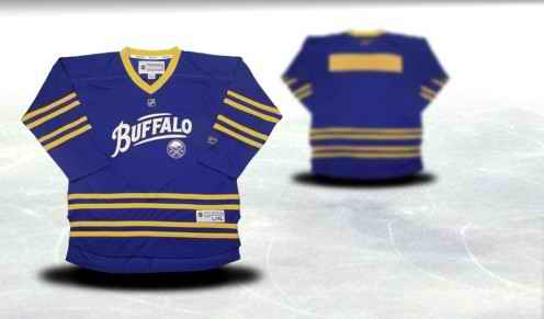 Buffalo Sabres Youth Customized Blue Third Jersey