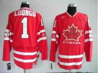 Canada 1 LUONGO Red Jerseys