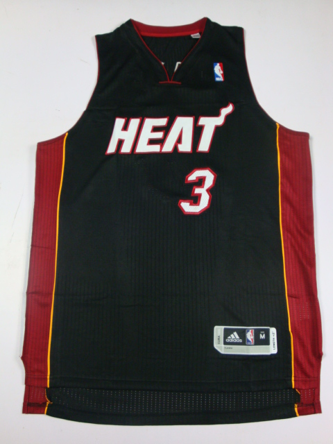 Heat 3 Wade Black AAA Jerseys