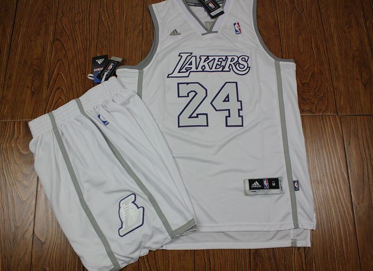 Lakers 24 Bryant White Suits