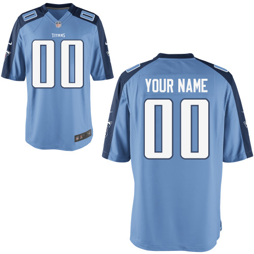 Nike Tennessee Titans Youth Customized Game Team Color Jersey
