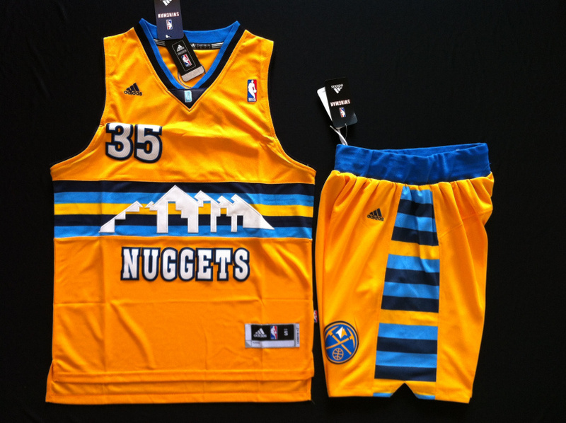 Nuggets 35 Faried Yellow Revolution 30 Suit