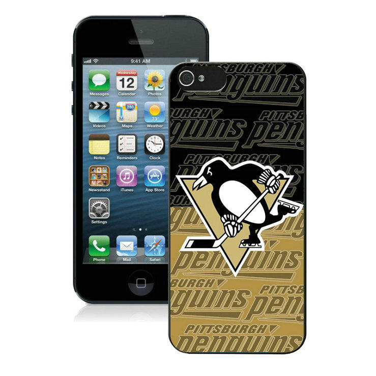 Pittsburgh Penguins-iPhone-5-Case