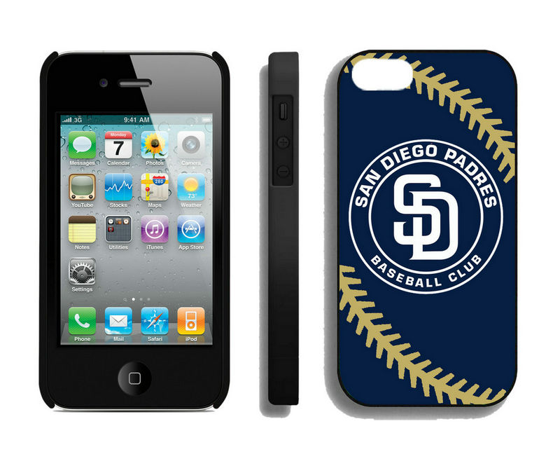 San Diego Padres-iPhone-4-4S-Case