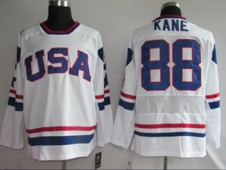USA 88 KANE White jerseys