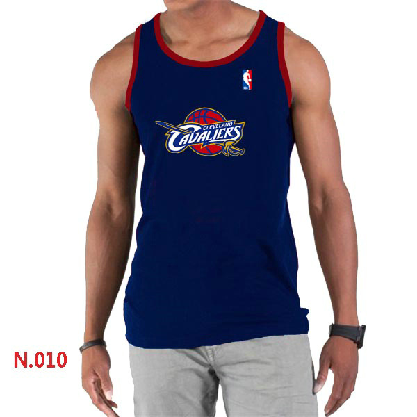 Cleveland Cavaliers Big & Tall Primary Logo Men D.Blue Tank Top