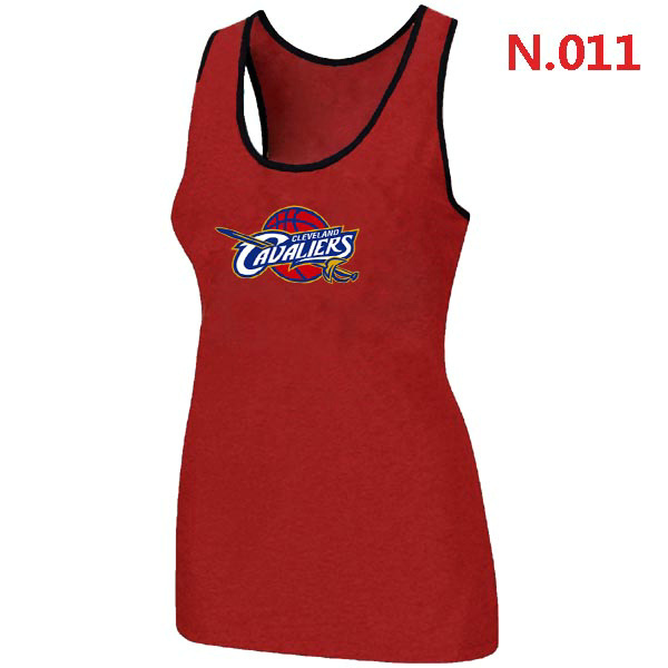 Cleveland Cavaliers Big & Tall Primary Logo Women Red Tank Top