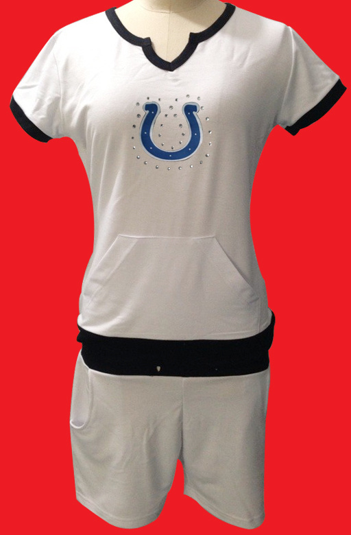 Nike Colts White Women Sport Suits